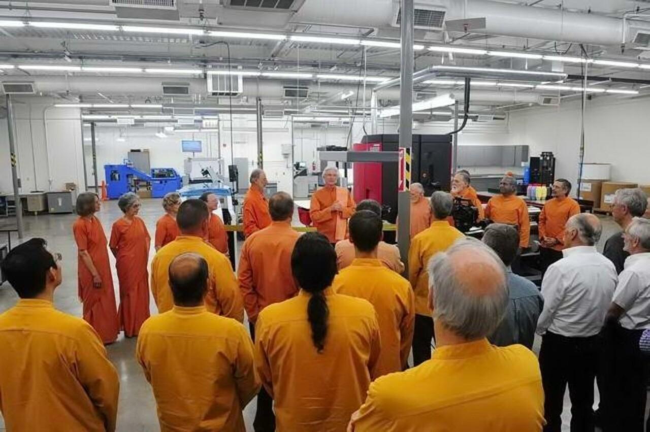 Srf Dedicates New Press And Bindery Equipment 2