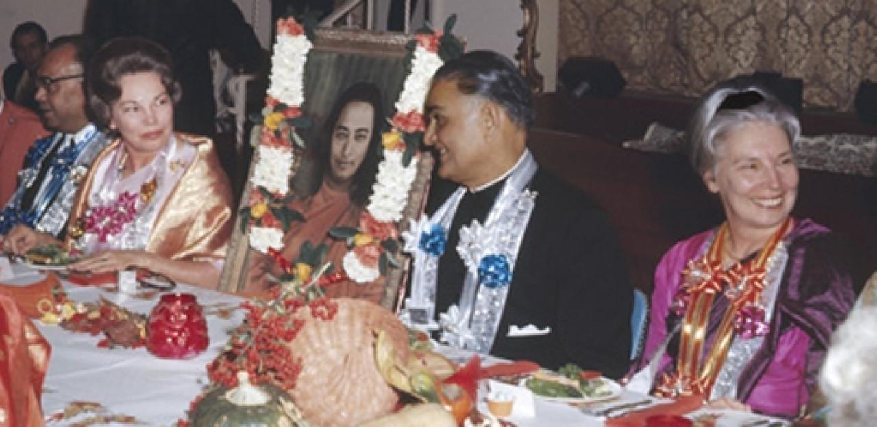At A Banquet At India Hall