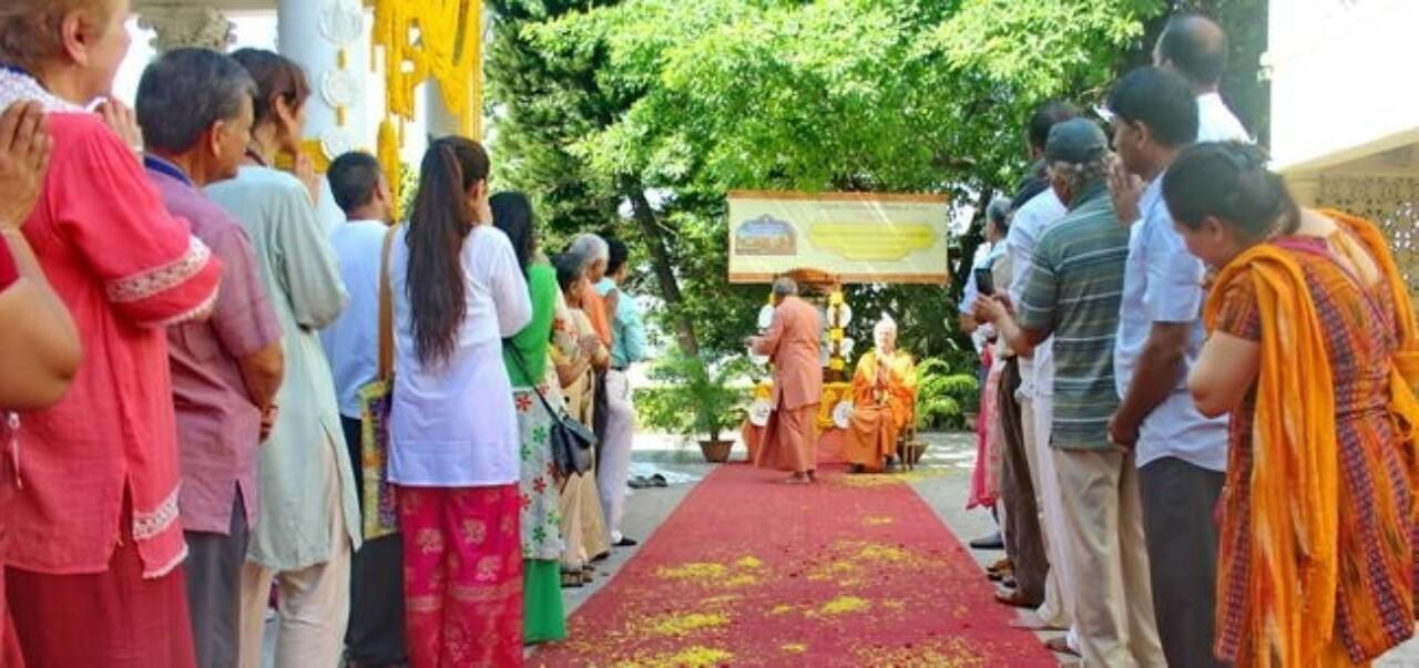 Brother Chidananda Visits Dakshineswar Ashram 2017