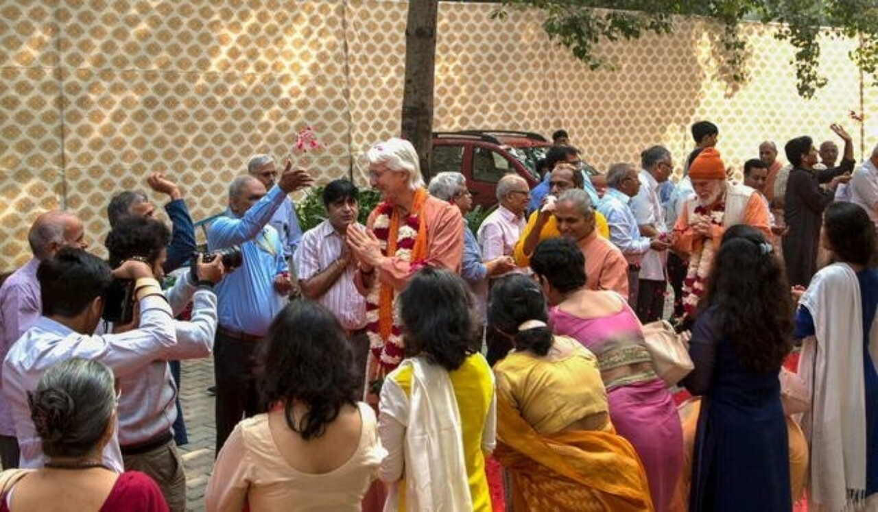 Brother Chidananda Arrival In India 2017