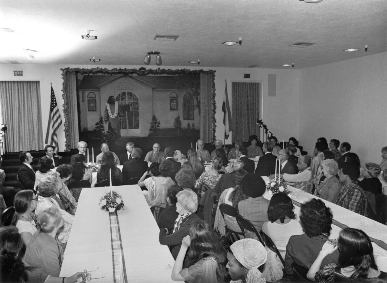 Hollywood Temple Lay Disciple Group April 10 1976