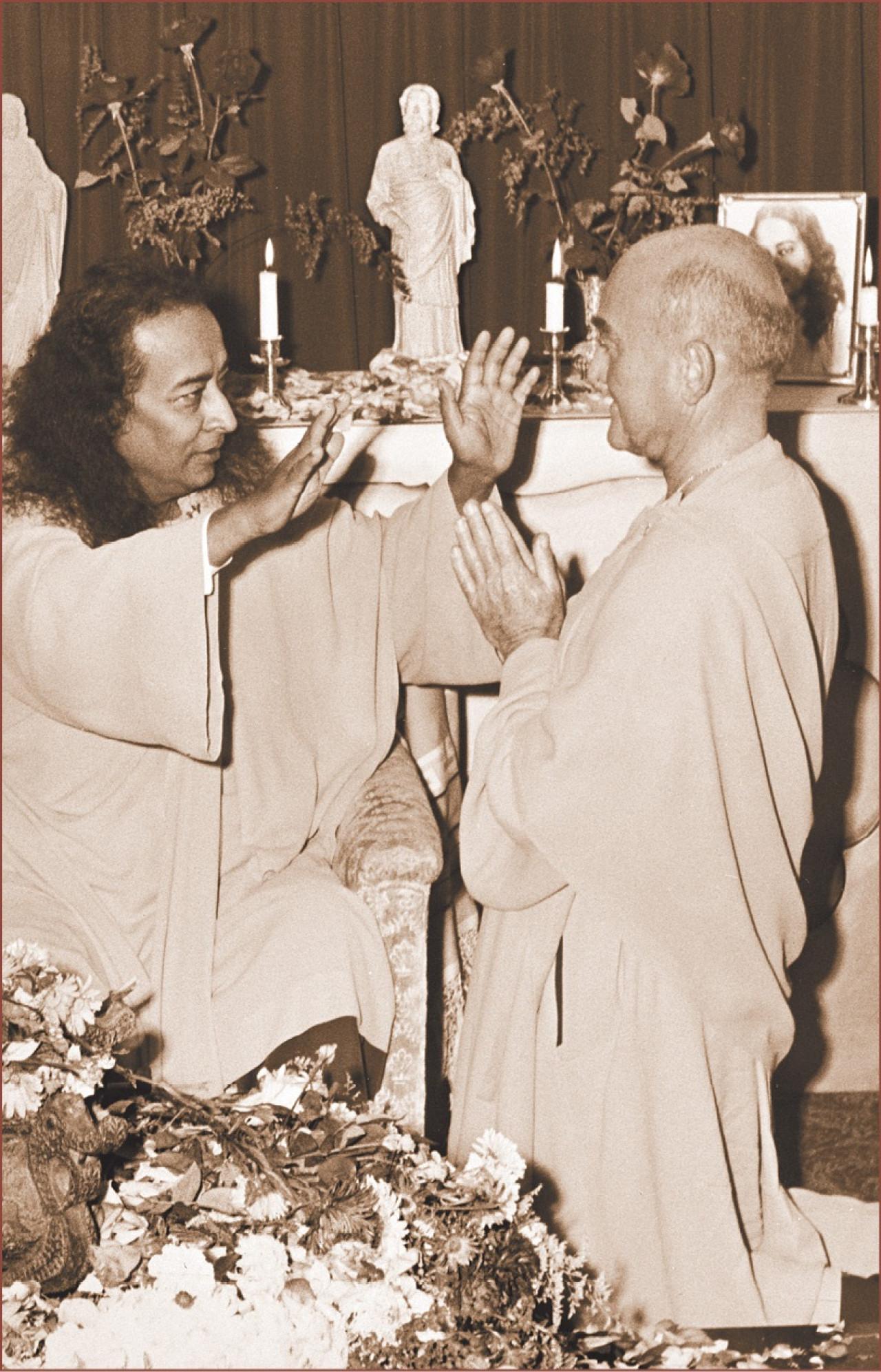 Sannyas Yogananda And Janakananda