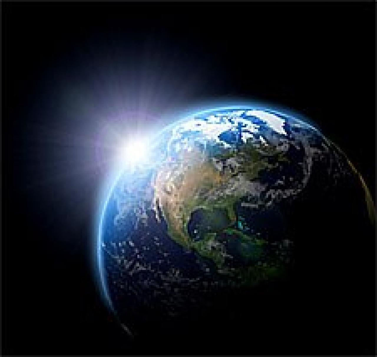 Worldwide Peace Healing Through Prayer Planet Earth Space View