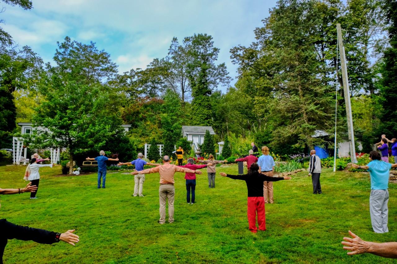 Greenfield Retreat Paramahansa Yogananda's Energization Exercises