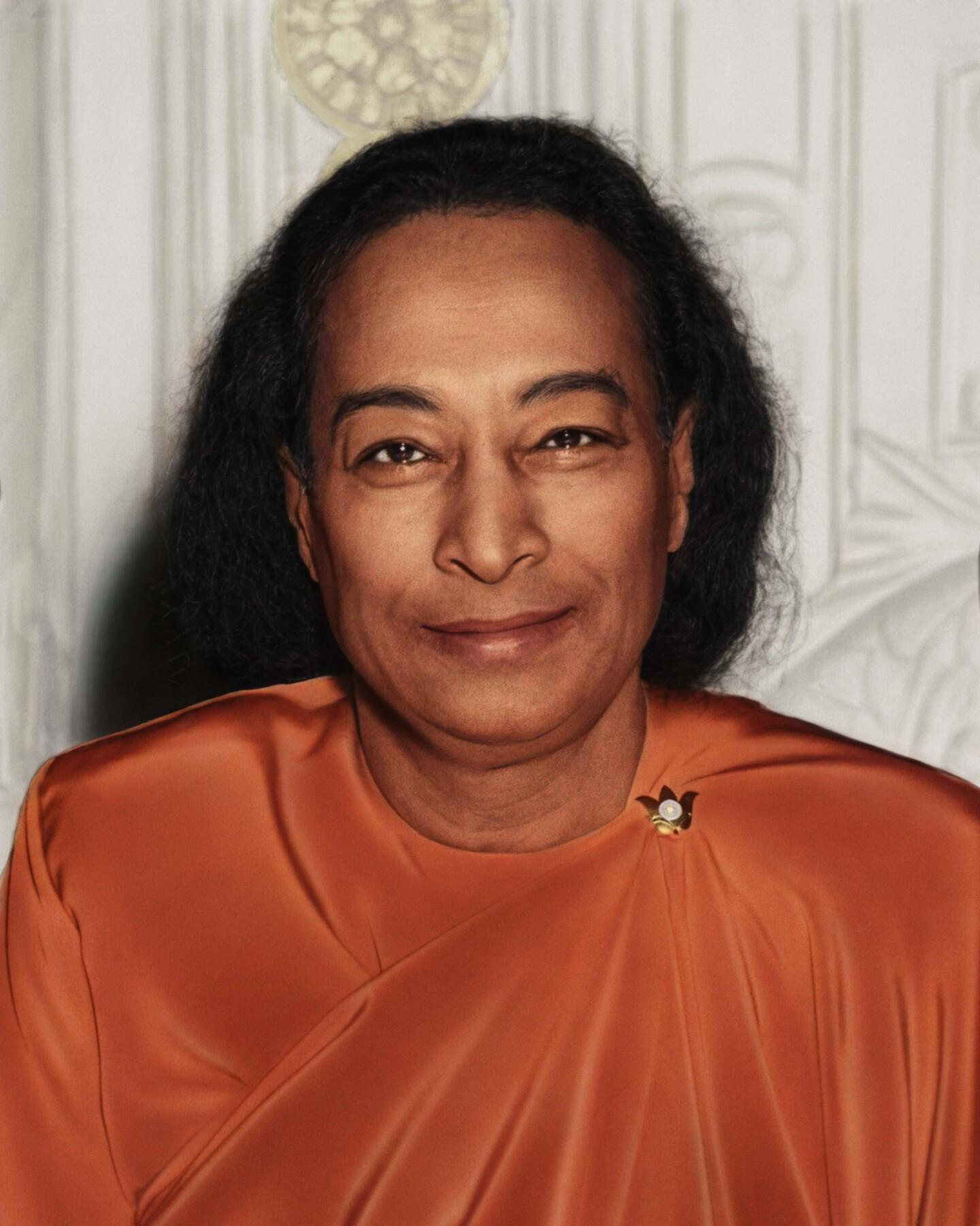Paramahansa Yogananda Last Smile