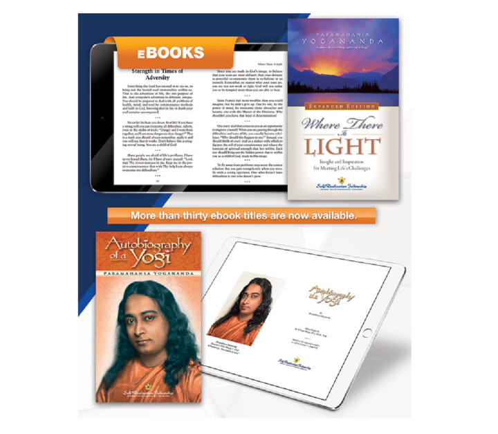 Autobiography of a Yogi and Where There Is Light Ebooks