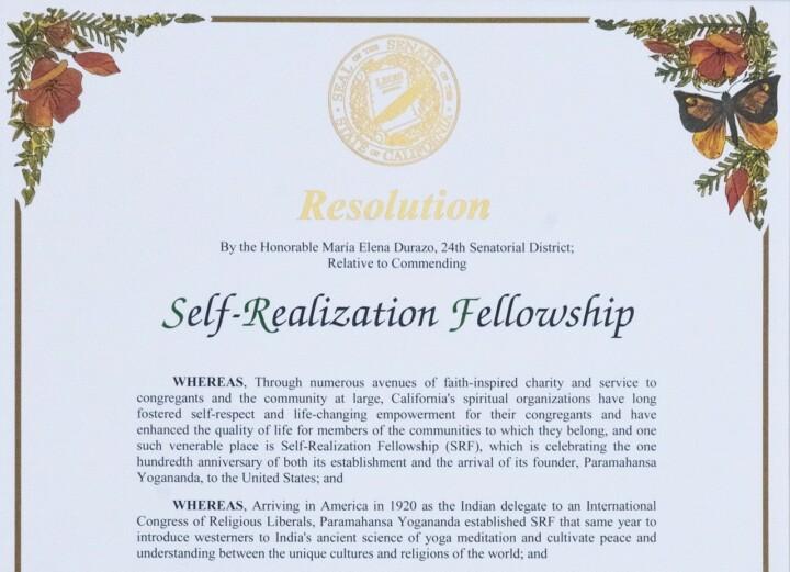 B Resolution Honors Srf Centennial Blog Page