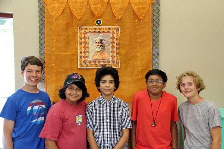 Boys At Srf Youth Program