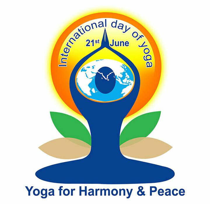 International Day of Yoga Logo 2021 June Newsletter 720x700