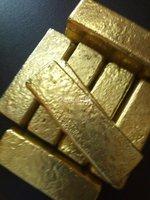 Disponibilidade de lingote de ouro