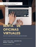 OFICINA VIRTUAL $1500.00 MENSUALES CON TODO INCLUIDO