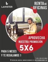 OFICINAS CORPORATIVAS AMUEBLADAS EN LANISTER GALERÍAS