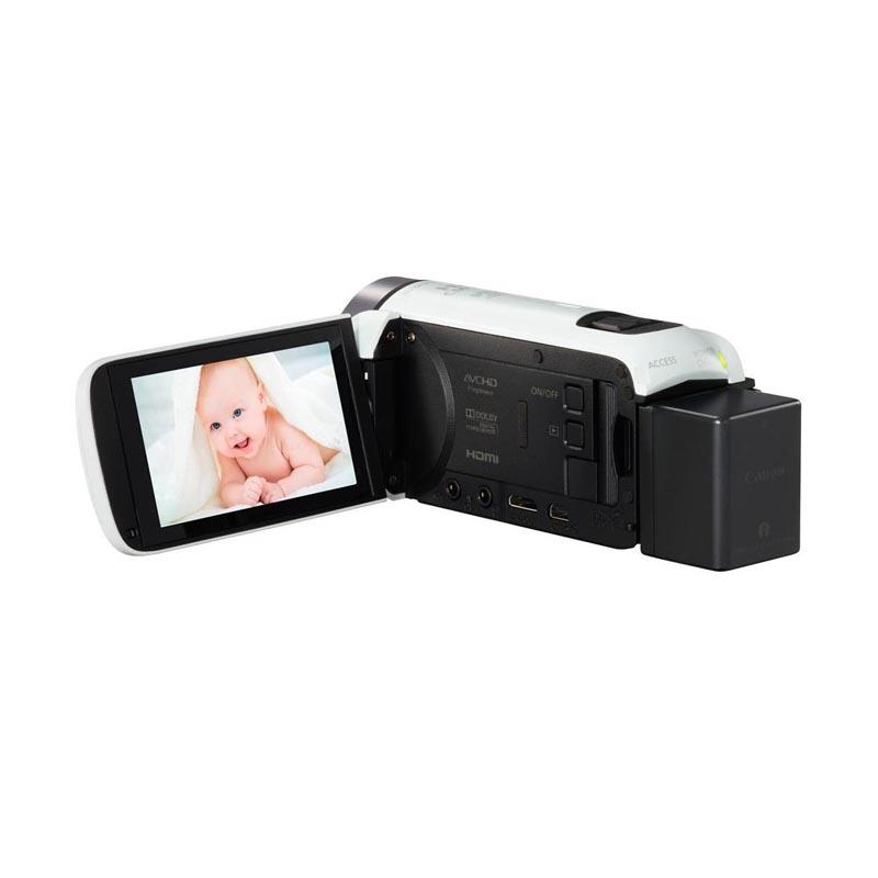 Canon VIXIA HF R700 Full HD Camcorder  (White)