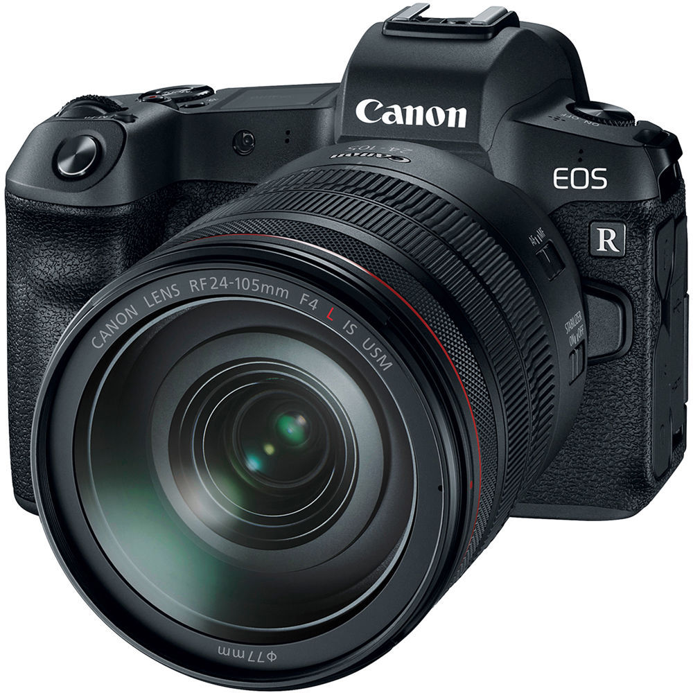 Canon EOS R Mirrorless Digital Camera w/  RF 24-105mm F4 L IS Lens