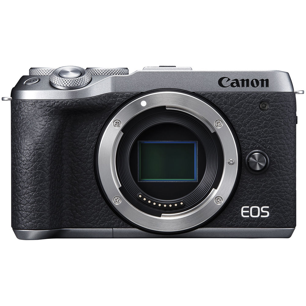 Canon EOS M6 Mark II Mirrorless Digital  Camera - Silver (Body Only)