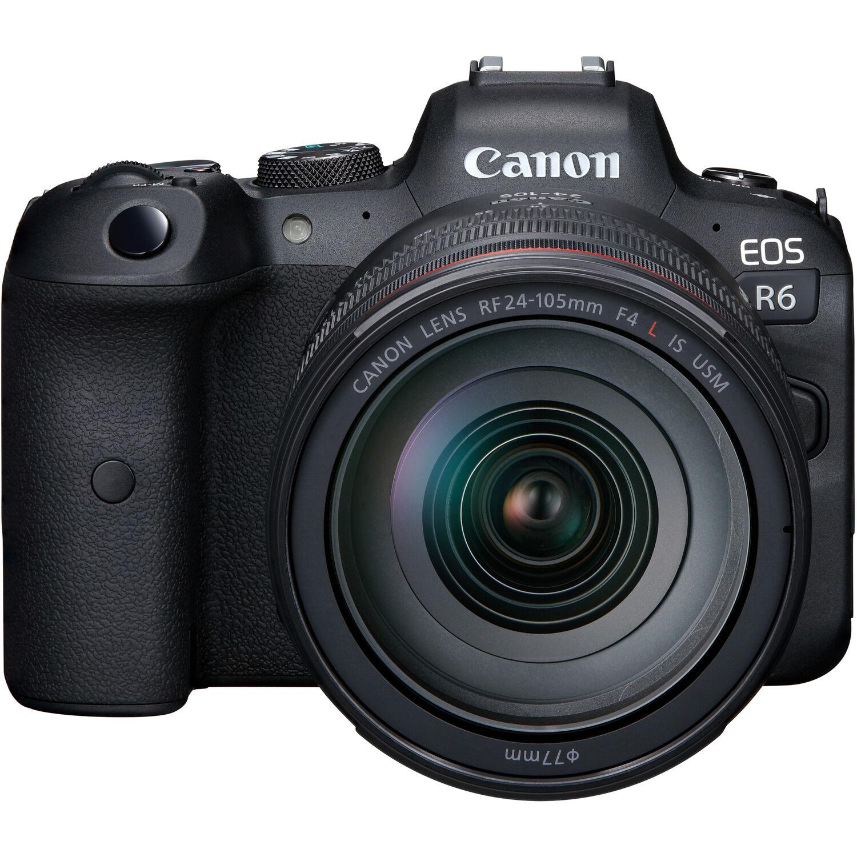 Canon EOS R6 Mirrorless Digital Camera with  24-105mm USM Lens Kit