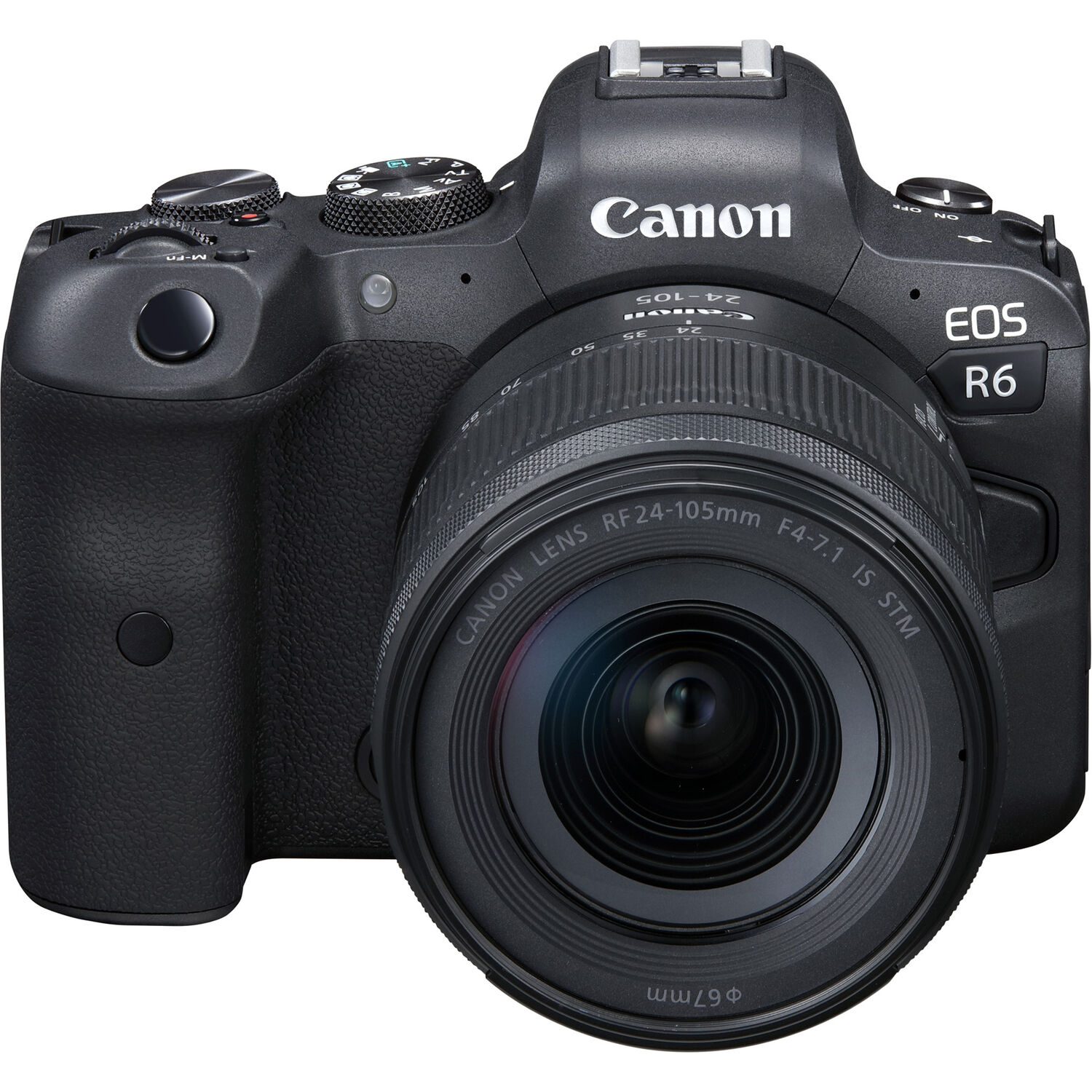 Canon EOS R6 Mirrorless Digital Camera with  24-105mm STM Lens Kit