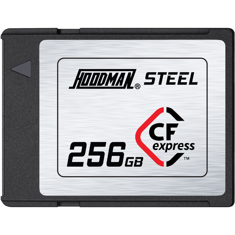 Hoodman 256GB CF Express Steel Memory Card (1700MB/s)