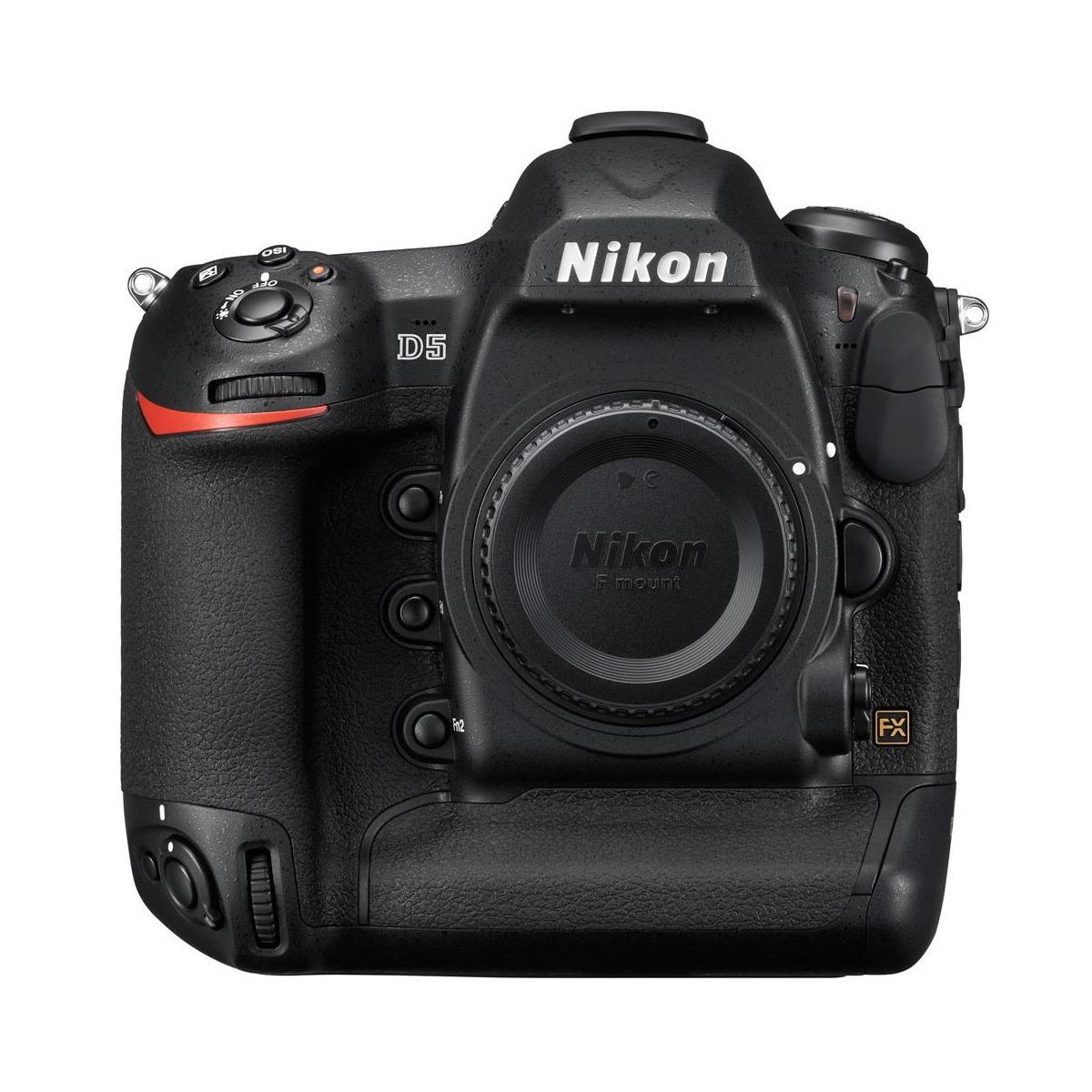 Nikon D5 FX-Format DSLR Camera Body  (XQD Version)