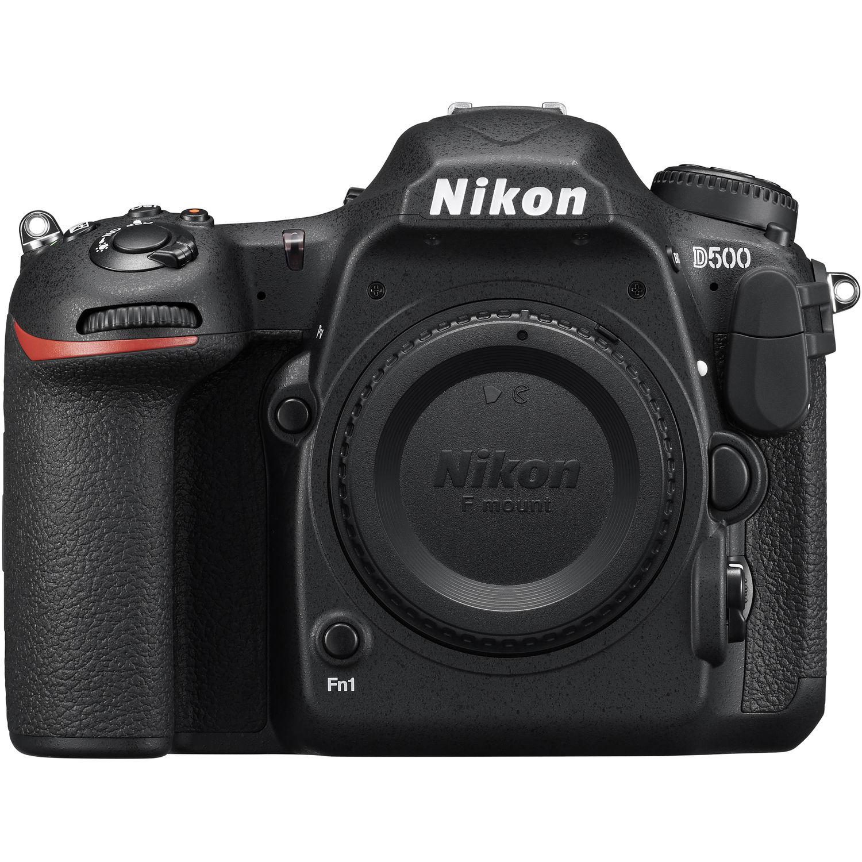 Nikon D500 DX-format DSLR Body