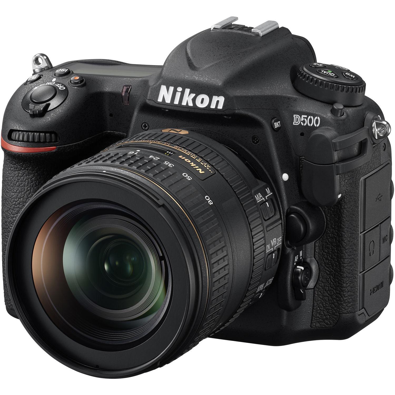 Nikon D500 DX-format DSLR w/ 16-80mm  ED VR Lens