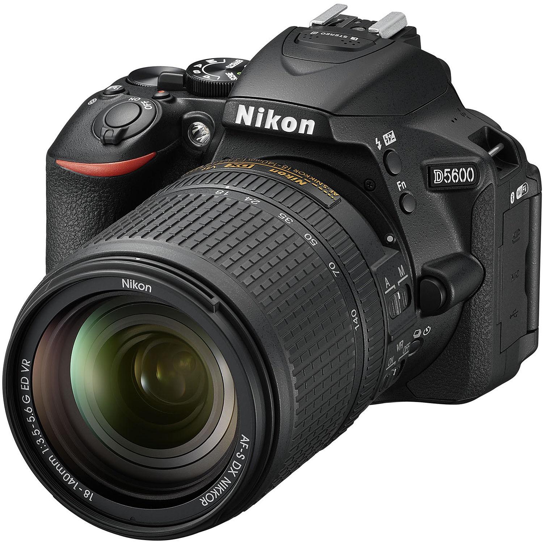 Nikon D5600 DSLR Camera with 18-140 Lens