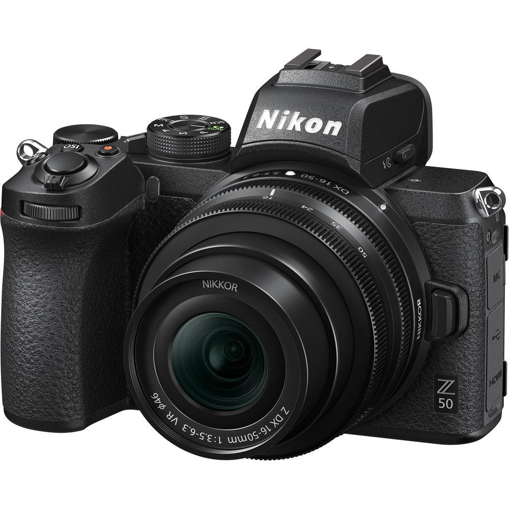 Nikon Z50 DX-format Mirrorless Camera  w/ 16-50mm f/3.5-6.3 Lens