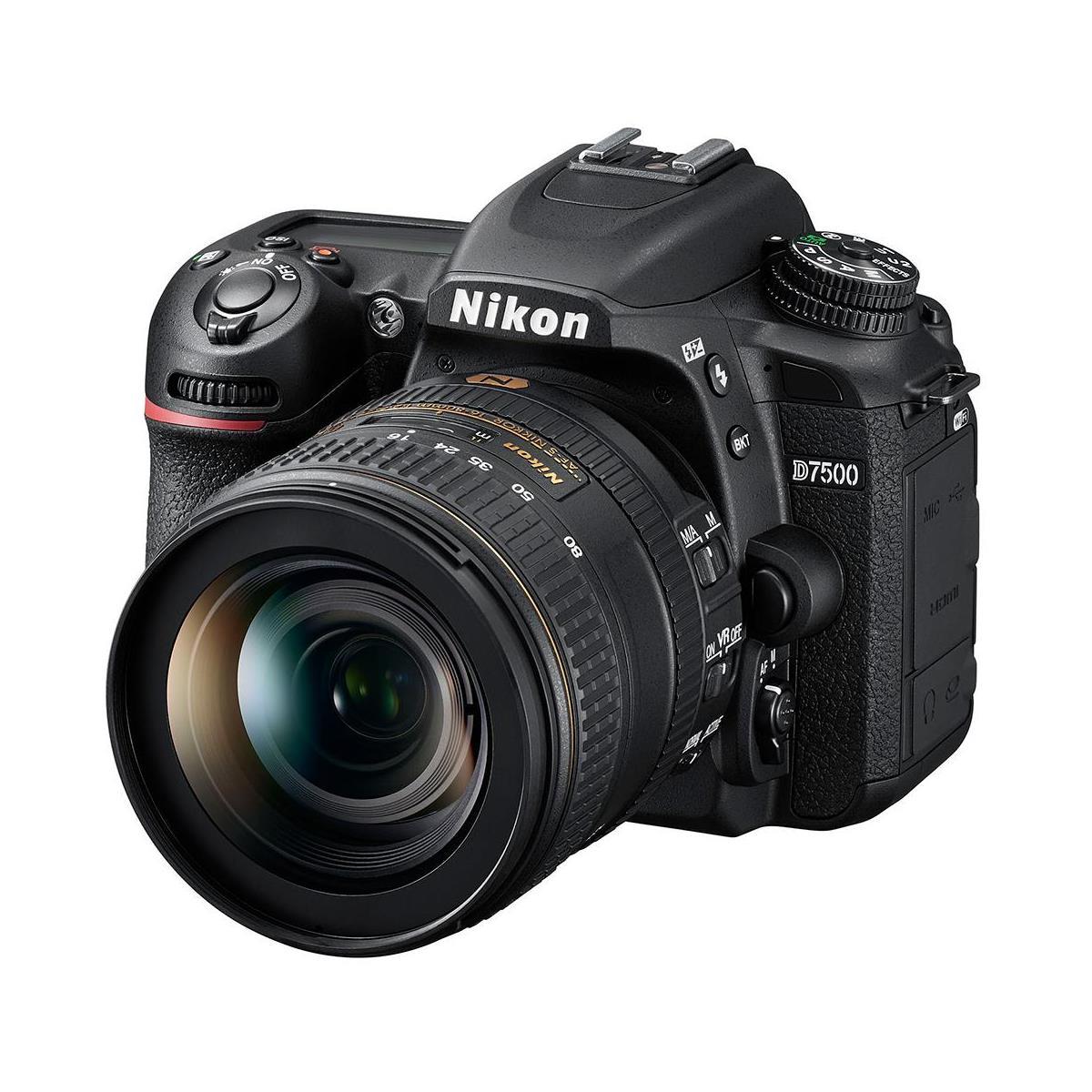 Nikon D7500 DSLR Camera w/16-80 f2.8-4 Lens