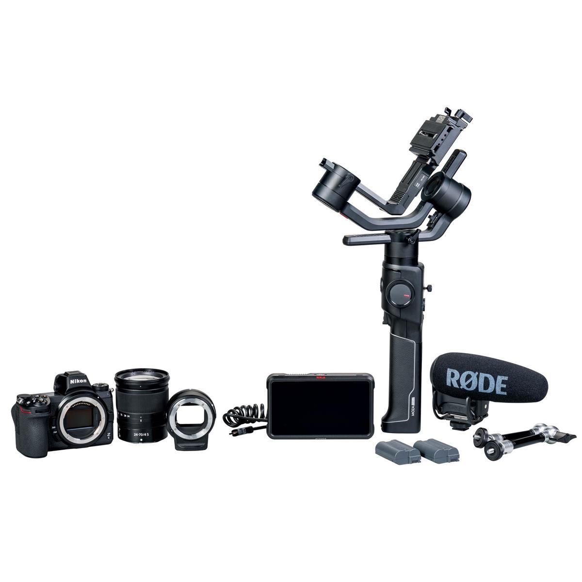 Nikon Z6 FX-Format Mirrorless Camera  Filmmaker's Kit