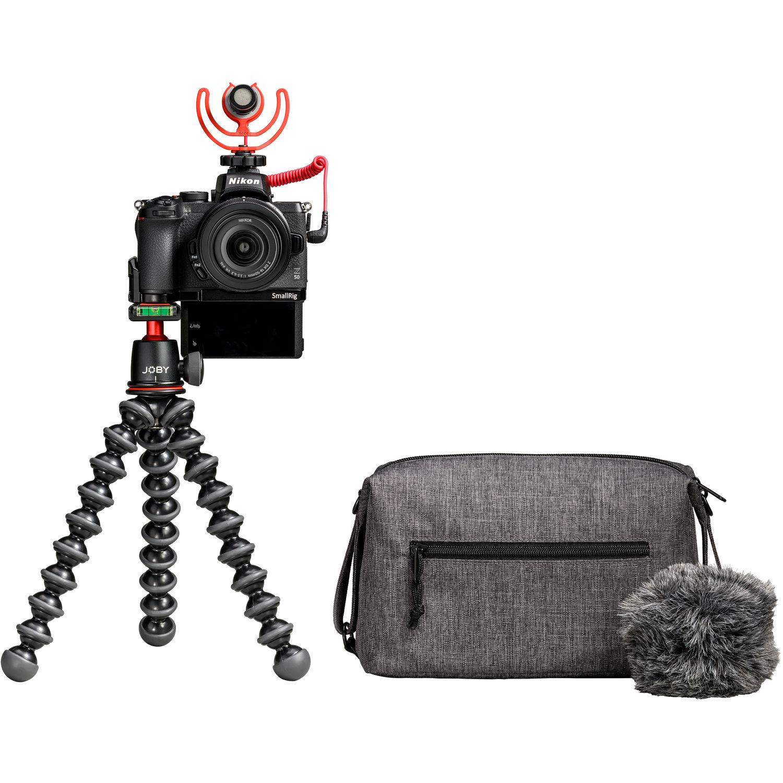 Nikon Z50 DX-format Mirrorless Camera  Creator's Kit