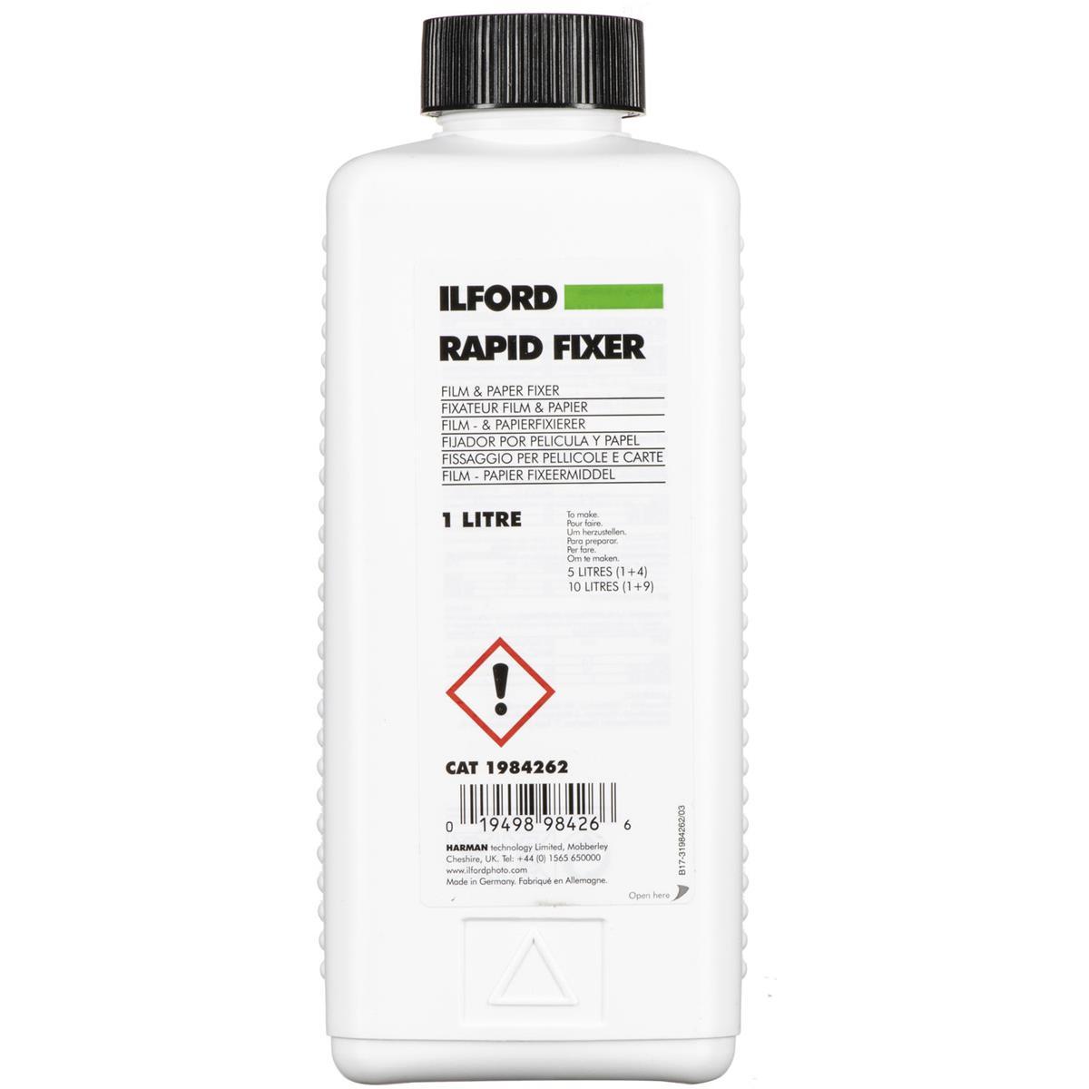 Ilford 1984262 Rapid Fixer Liquid1 Liter