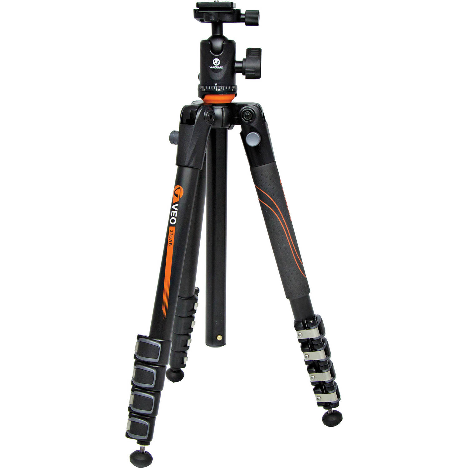 Vanguard VEO 235AB Aluminum Tripod with  with TBH-50 Ball Head