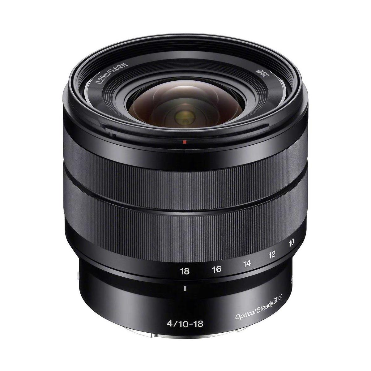 Used Sony 10-18mm f/4 OSS Lens E Mount