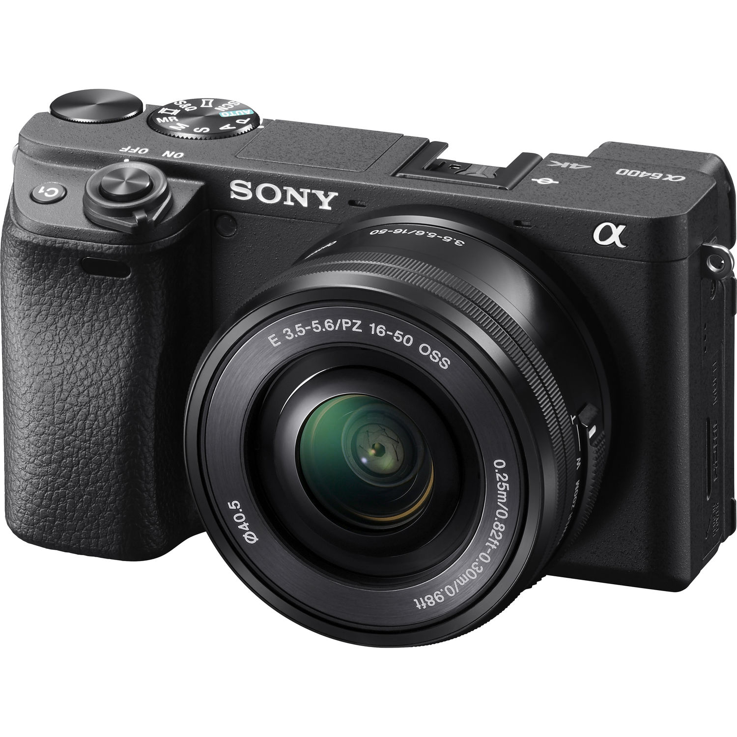 Sony a6400 Mirrorless Camera Kit  with 16-50mm lens