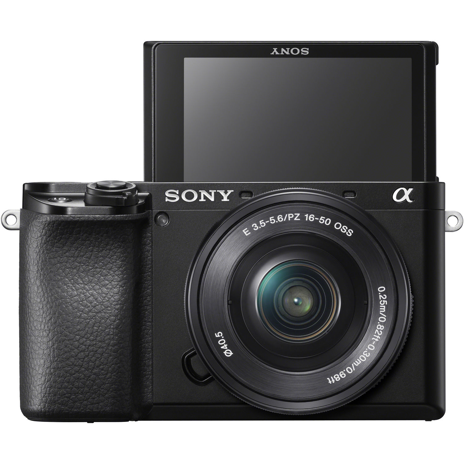 Sony Alpha a6100 Mirrorless Digital   Camera with 16-50mm Lenses