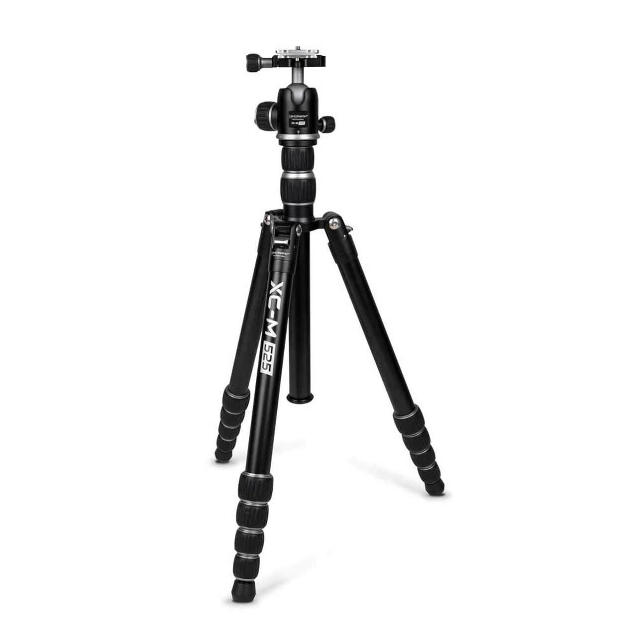 Promaster 3454  XC-M 525K Professional Tripod (Silver) - Kit with Ball Head