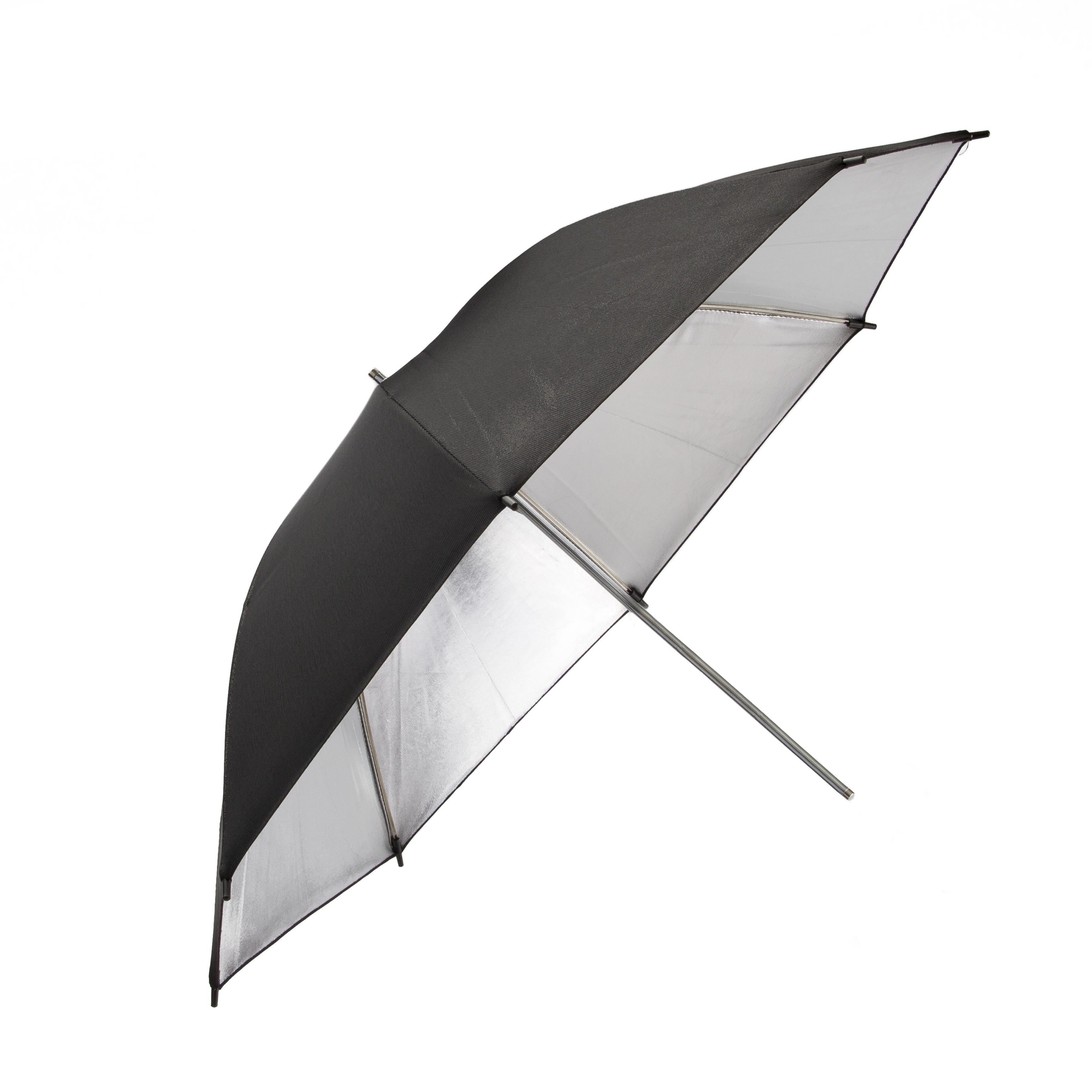"""Promaster 5187 45"""" SystemPRO Studio  Umbrella - Black/Silver"""