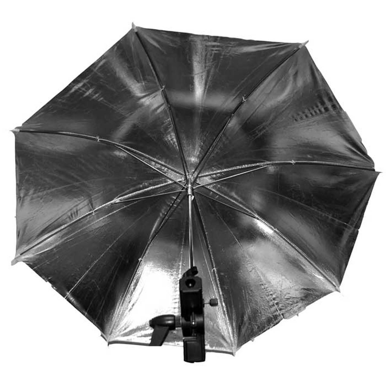 """Promaster 5201 SystemPro Umbrella 30""""  Silver/White"""