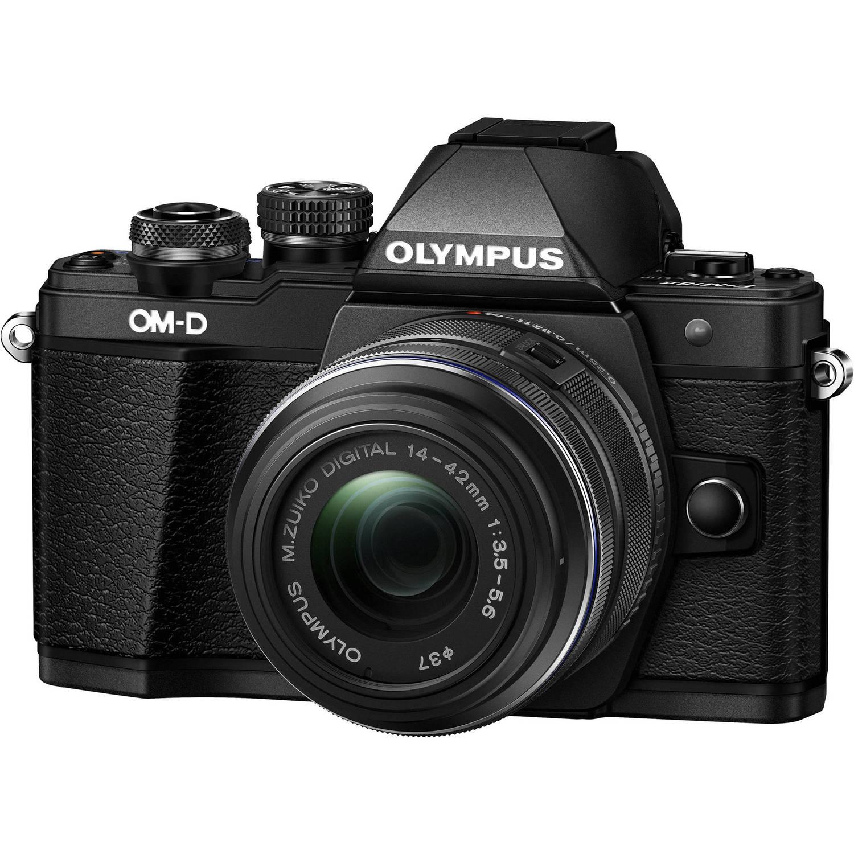 Olympus OM-D E-M10 Mark II with 14-42 II R Lens (Black)
