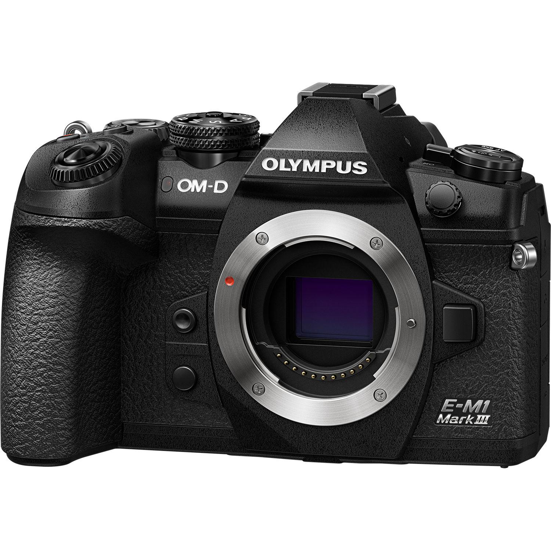 Olympus O-MD E-M1 Mark III Camera Body  (Black)
