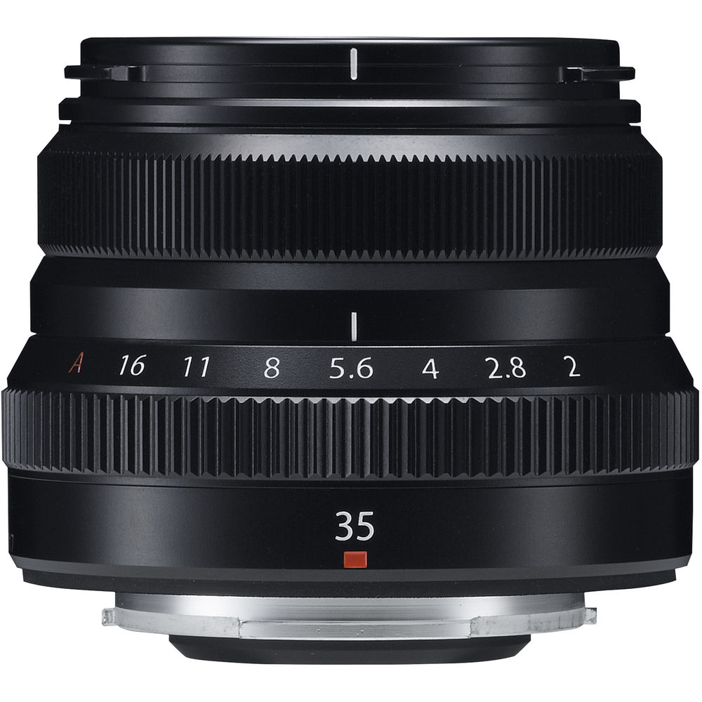 Open Box Fujifilm XF 35mm f/2 R WR Lens (Black)