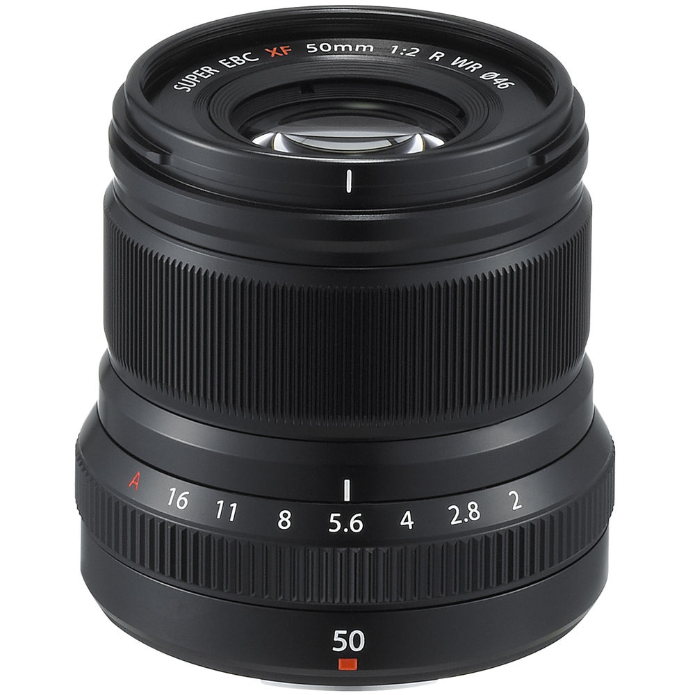Open Box Fujifilm 50mm F2 XF R WR Lens (Black)