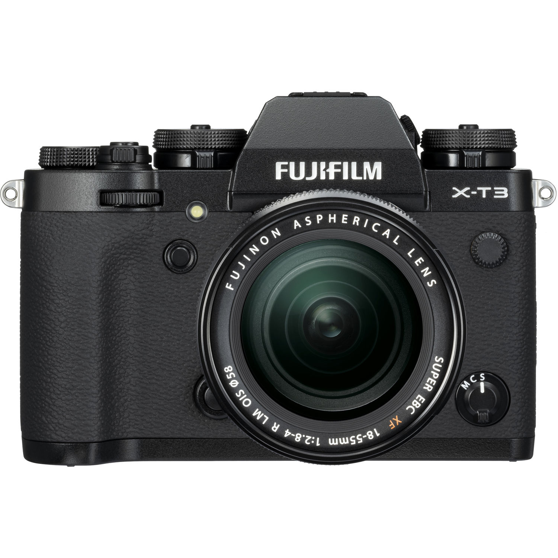 Fujifilm X-T3 Mirrorless Camera w/  18-55mm Lens Kit (Black)