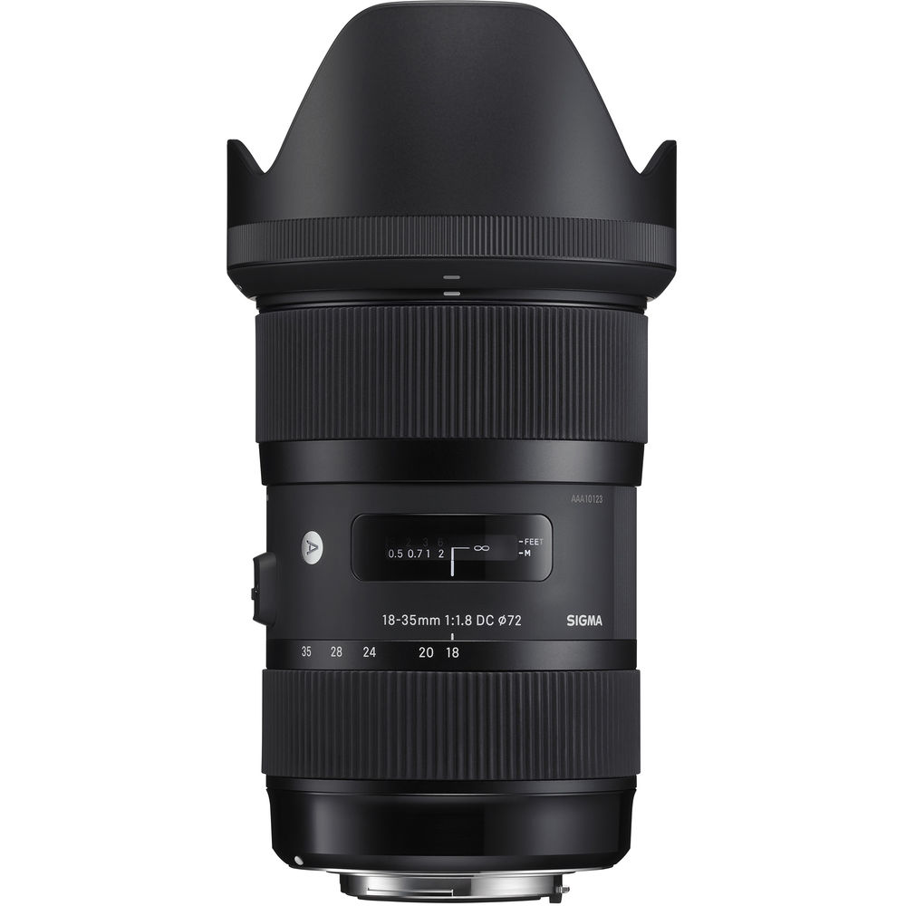 Open Box Sigma 18-35mm F1.8 DC HSM Lens for Canon