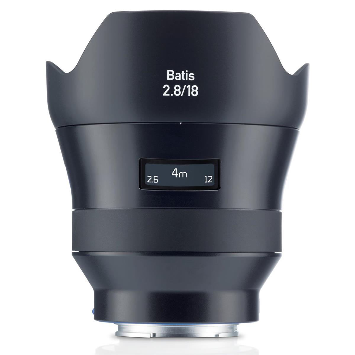 Open Box Zeiss 18mm F2.8 Batis Lens for Sony FE  Mount