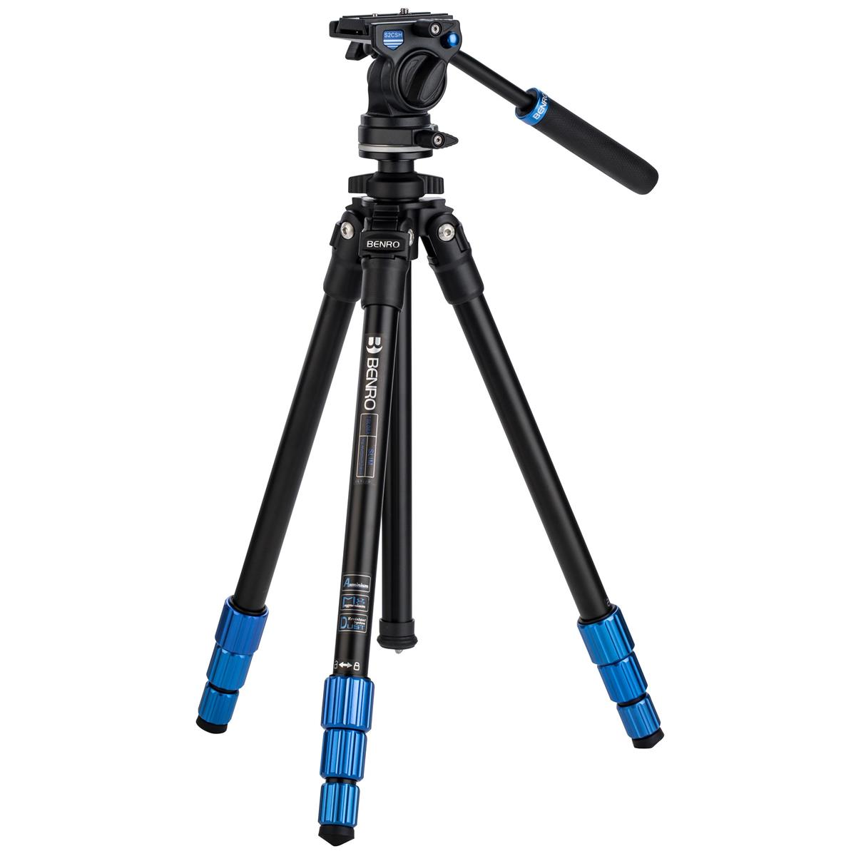 Benro TSL08AS2CSH Slim Video Kit -  Aluminum