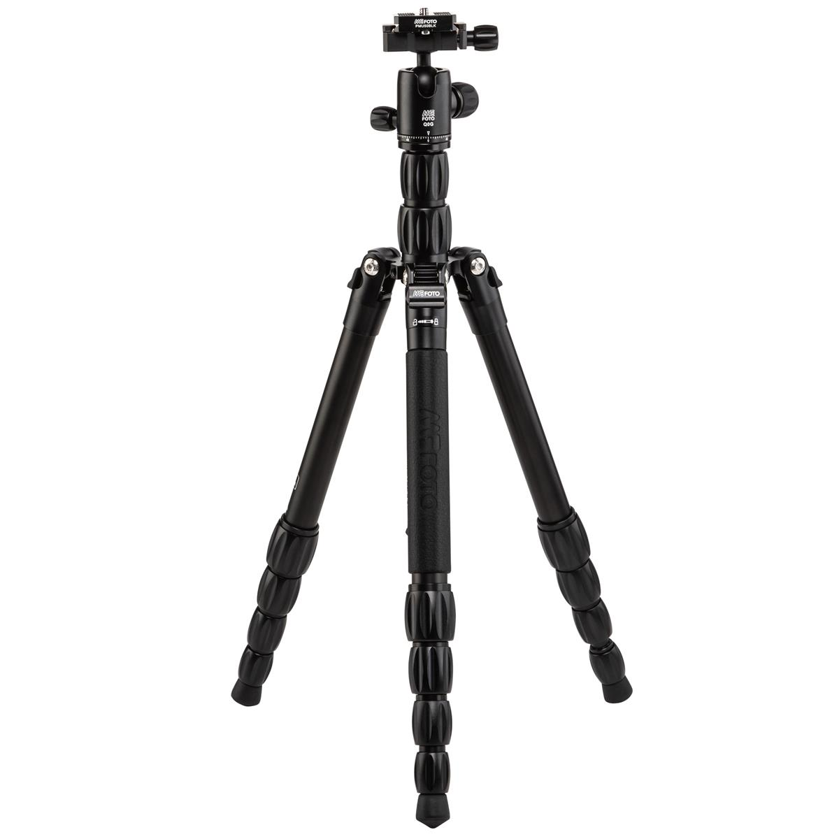 MeFOTO BackPacker S Travel Tripod (Black Aluminum)