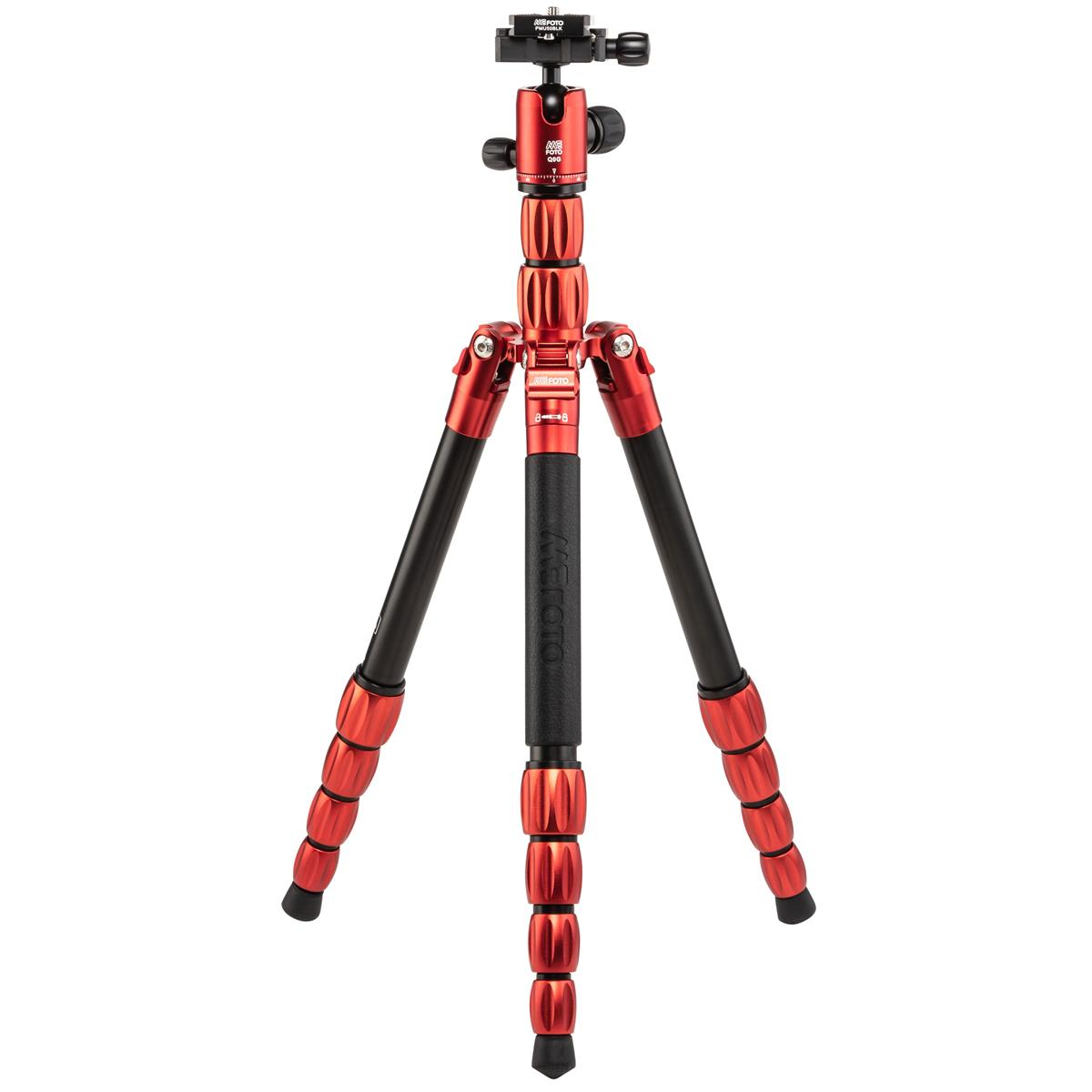 MeFOTO BackPacker S Travel Tripod (Red Aluminum)