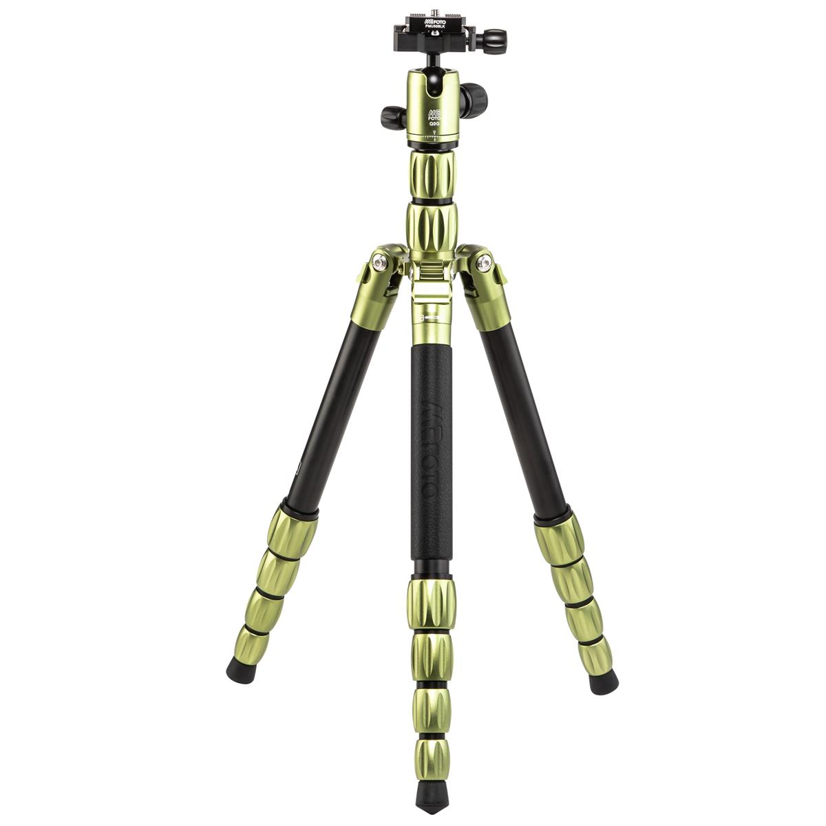 MeFOTO BackPacker S Travel Tripod (Green Aluminum)