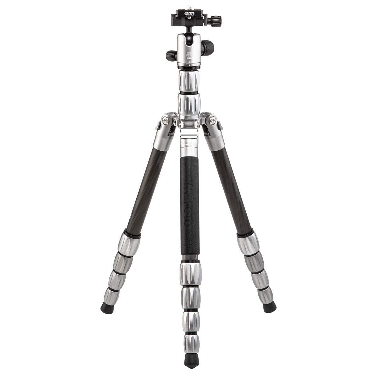 MeFOTO BackPacker S Travel Tripod  (Titanium, Carbon Fiber)